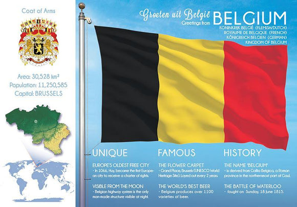 Europe | BELGIUM - FW (country No. 80) - top quality approved by www.postcardsmarket.com specialists
