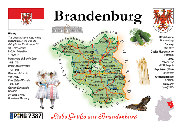Germany States - Brandenburg MOTW