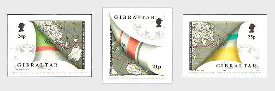 @1992 Round the World Yacht Rally - Gibraltar stamps