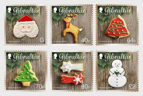 *Stamps | Gibraltar 2016 Christmas - Gibraltar stamps - top quality approved by www.postcardsmarket.com specialists