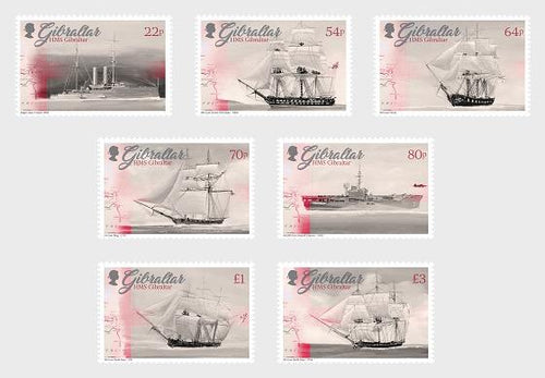 *Stamps | Gibraltar 2017 HMS Gibraltar British Royal Navy - Gibraltar stamps - top quality approved by www.postcardsmarket.com specialists