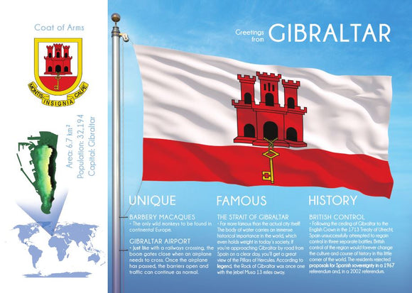 GIBRALTAR - FW - top quality approved by www.postcardsmarket.com specialists