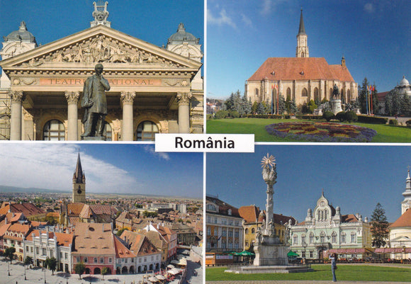 Market Corner: Bundle of 3 x LAD Romania Historical Monuments - top quality approved by www.postcardsmarket.com specialists