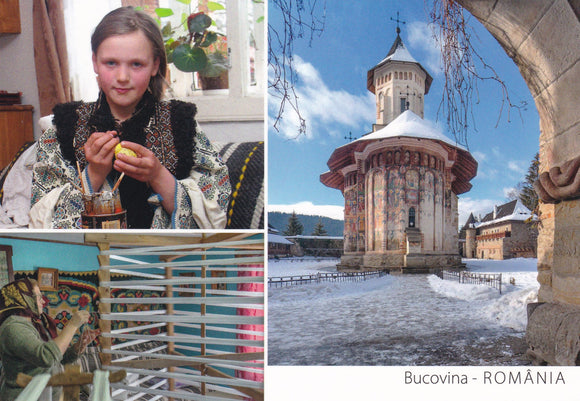 Market Corner: Bundle of 3 x LAD Romania - Bucovina VL 351-22 - top quality approved by www.postcardsmarket.com specialists