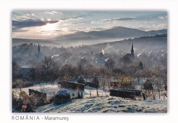 3 x LAD Romania - Ieud village, Maramures - a part of UNESCO list