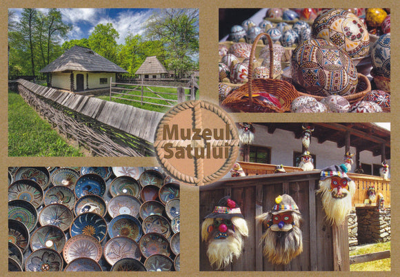 Market Corner: Bundle of 3 x LAD Romania - Bucharest - The Village Museum - top quality approved by www.postcardsmarket.com specialists