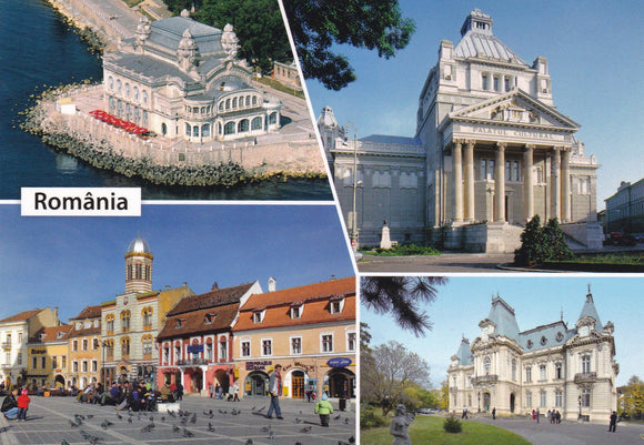 Market Corner: Bundle of 3 x LAD Romania - Architectural Highlights VL 332-21 - top quality approved by www.postcardsmarket.com specialists