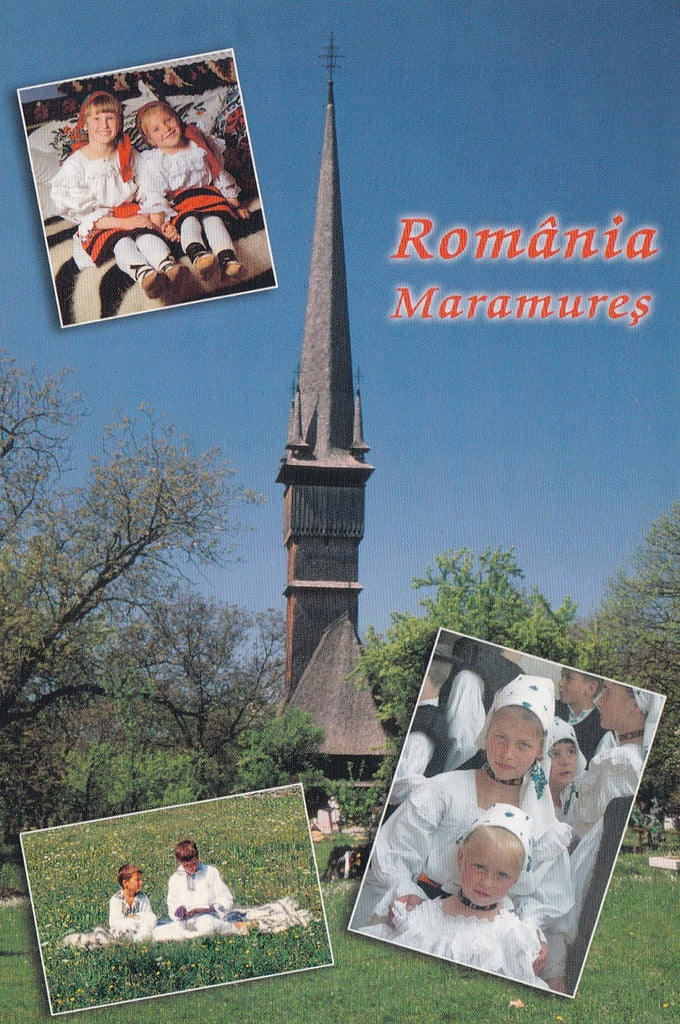 Market Corner: Bundle of 5 x LAD Romania - Maramures - Postcards Market