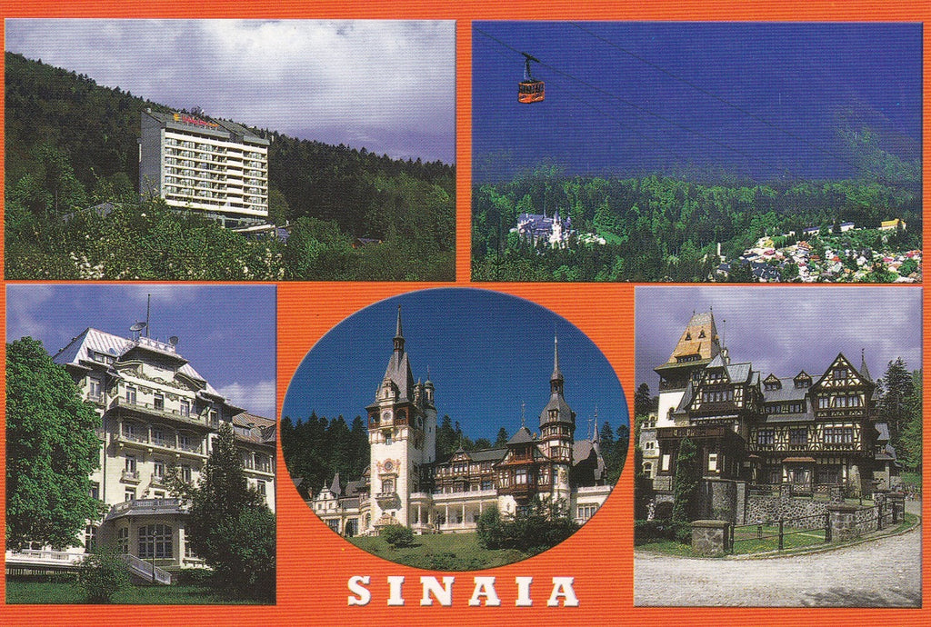 Market Corner: Bundle of 5 x LAD Romania - Sinaia Highlights - top quality approved by www.postcardsmarket.com specialists