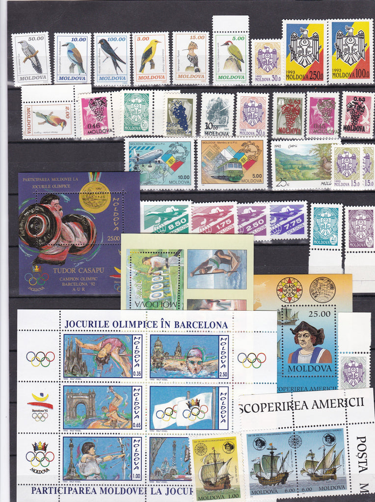 Stamps: Starter pack Moldova Stamps collector! - top quality approved by www.postcardsmarket.com specialists