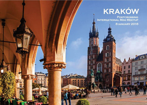 Photo Meeting: 5 x Krakow - Poland (mini meetup) - top quality approved by www.postcardsmarket.com specialists