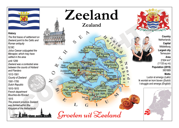 The Netherlands Provinces - Zeeland _ MOTW_NL_012 - Postcards Market