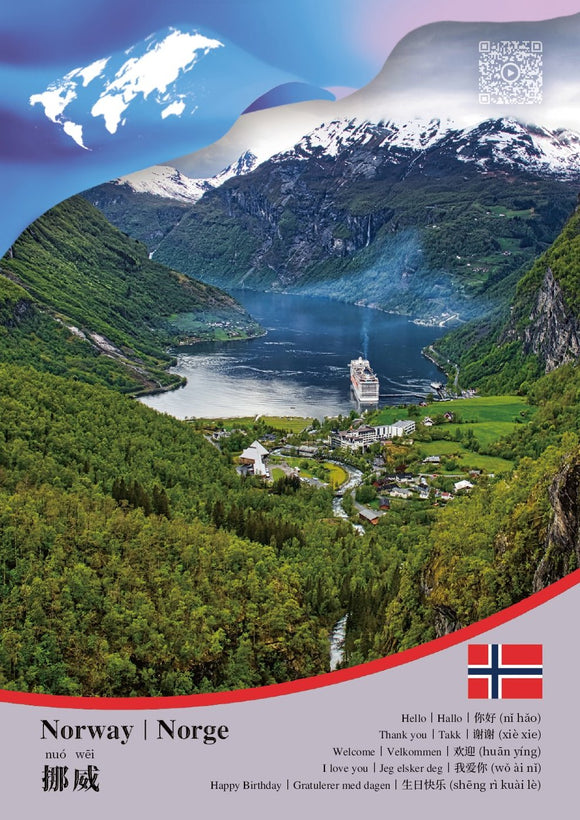 CCUN Postcard Norway - Postcards Market