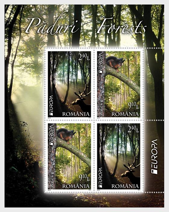 2011 Europa Stamps