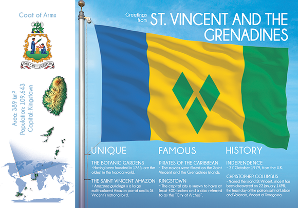 SAINT VINCENT AND THE GRENADINES - FW