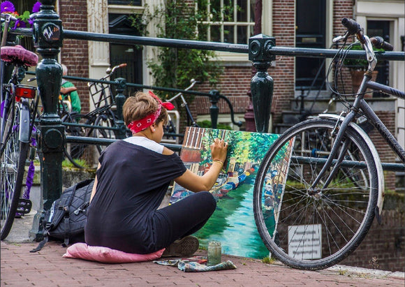Photo: Street Art - top quality approved by www.postcardsmarket.com specialists
