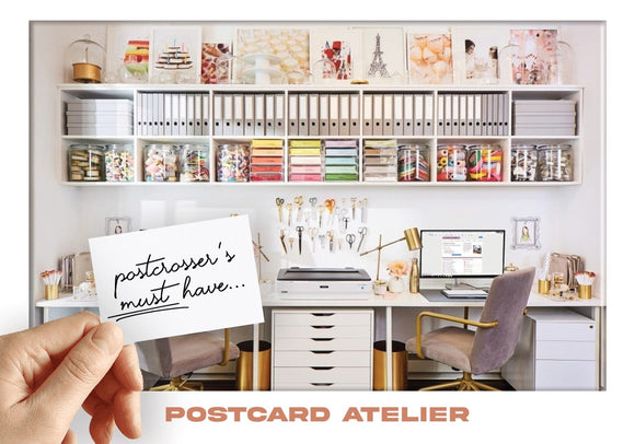 Photo: Postcrosser's Must Have - Postcard Atelier (bundle x 5 pieces) - top quality approved by www.postcardsmarket.com specialists