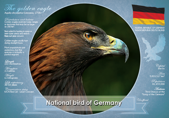 National Bird of Germany - Postcards Market