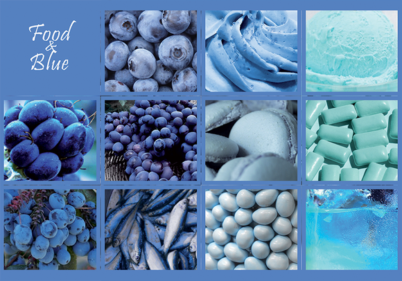 Photo: Food & Blue (bundle x 5 pieces) - top quality approved by www.postcardsmarket.com specialists