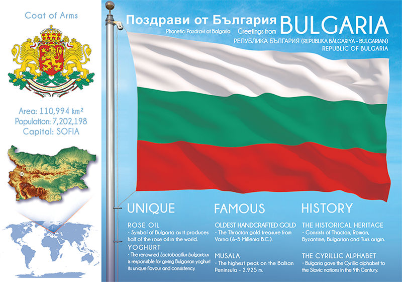BULGARIA - FW - top quality approved by www.postcardsmarket.com specialists