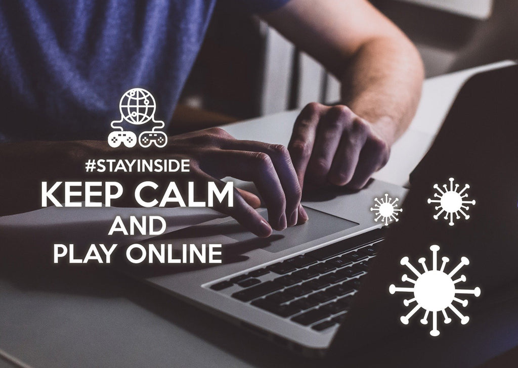 Photo #stayinside - play online - Postcards Market