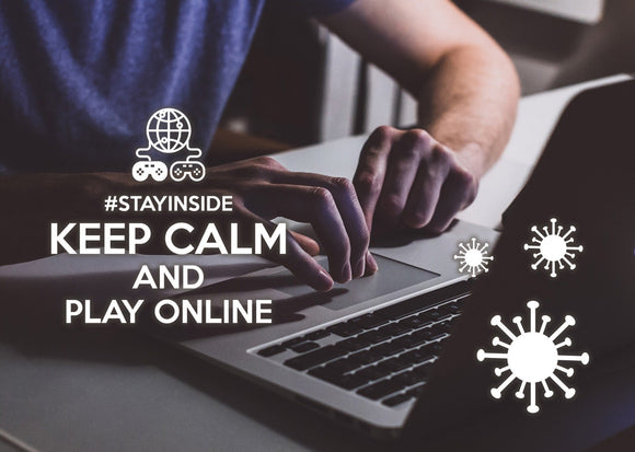 Photo #stayinside - play online - top quality approved by www.postcardsmarket.com specialists