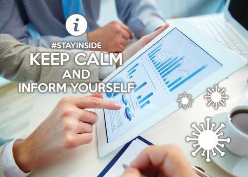 Photo #stayinside - inform yourself! (bundle x 5 pieces) - top quality approved by www.postcardsmarket.com specialists
