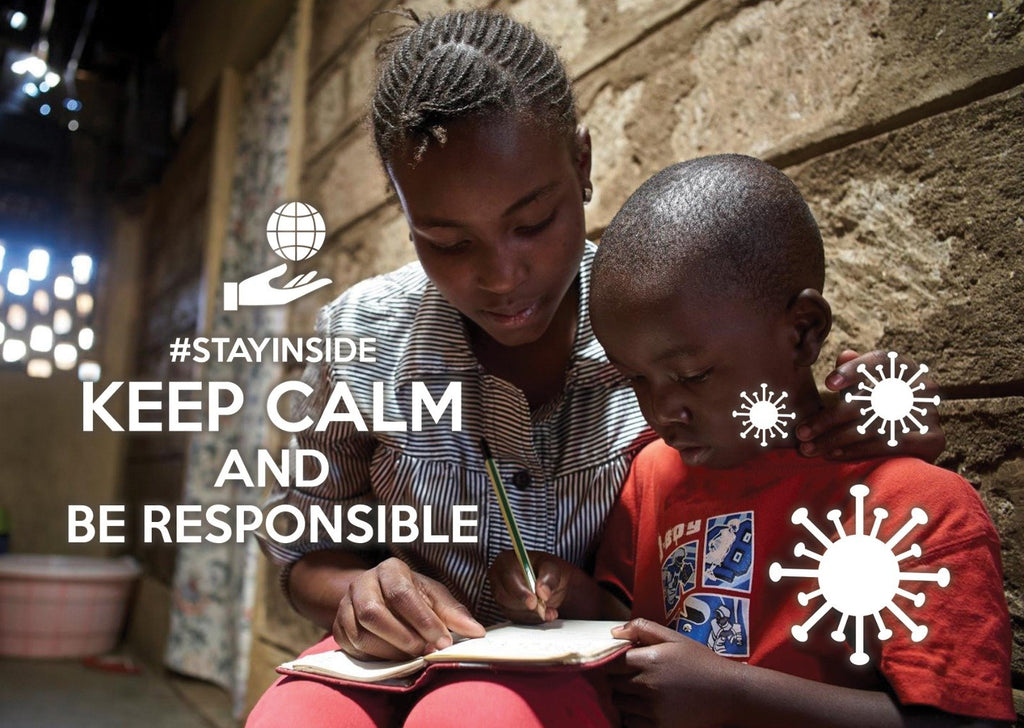 Photo #stayinside - be responsible - Postcards Market