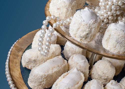 Photo Cookies: Coconut Pearl (bundle x 5 pieces) - top quality approved by www.postcardsmarket.com specialists