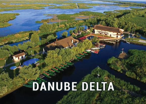 Photo Danube Delta - Romania UNESCO WHS site - 02 Aerial View - top quality approved by www.postcardsmarket.com specialists