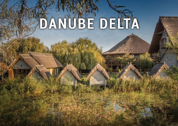 Photo: Danube Delta - Romania UNESCO WHS site - 05 Houses - top quality approved by www.postcardsmarket.com specialists