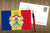 Photo Romania: Flag and Royal Coat of Arms (bundle x 5 pieces) - top quality approved by www.postcardsmarket.com specialists