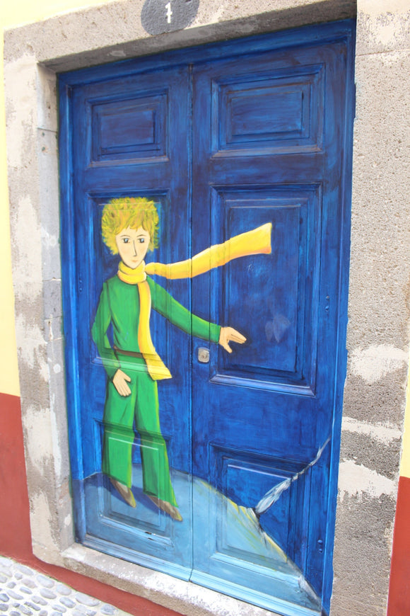 Photo: Just a simple door (Little Prince) - top quality approved by www.postcardsmarket.com specialists