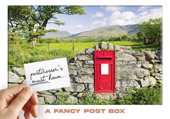 Photo: Postcrosser's Must Have - A Fancy Postbox - top quality approved by www.postcardsmarket.com specialists