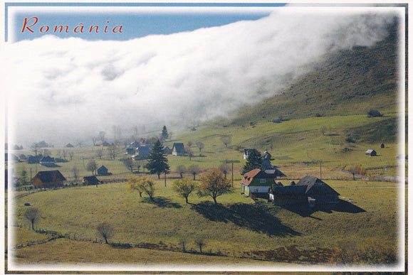Market Corner: Bundle of 5 x LAD Romania - Autumn in Sirnea - top quality approved by www.postcardsmarket.com specialists