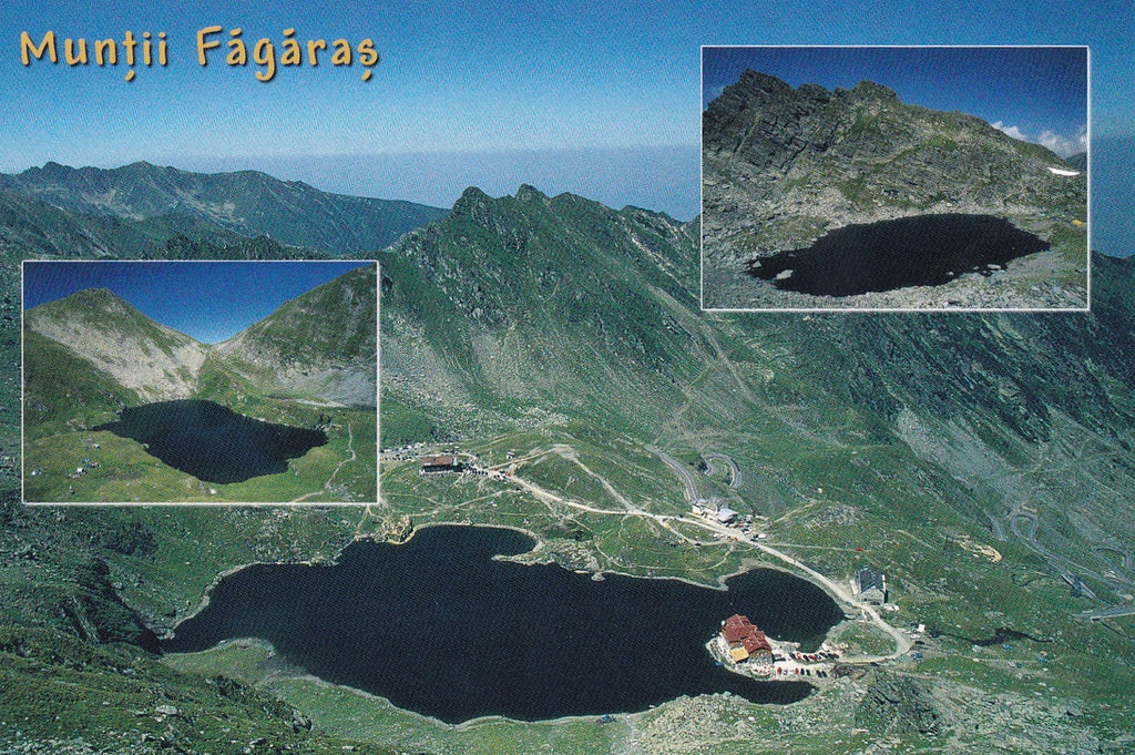 Market Corner: Bundle of 5 x LAD Romania - Fagaras Mountains - Postcards Market