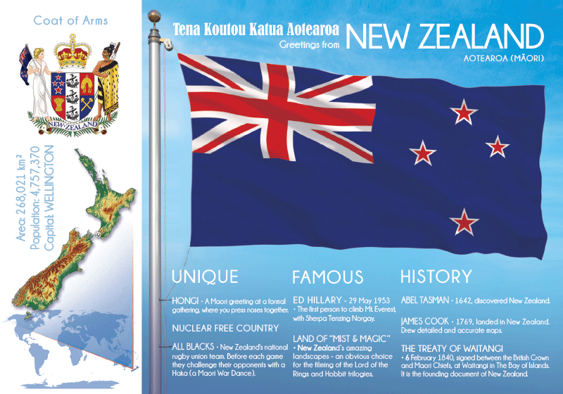 NEW ZEALAND - FW - top quality approved by www.postcardsmarket.com specialists