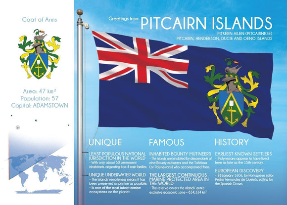 Oceania | PITCAIRN - FW - top quality approved by www.postcardsmarket.com specialists