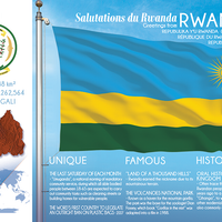 AFRICA | RWANDA - FW (country No. 75) - top quality approved by www.postcardsmarket.com specialists
