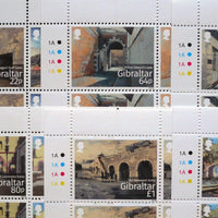 *Stamps | Gibraltar 2016 Gibraltar Historic Gates - Gibraltar stamps - top quality approved by www.postcardsmarket.com specialists