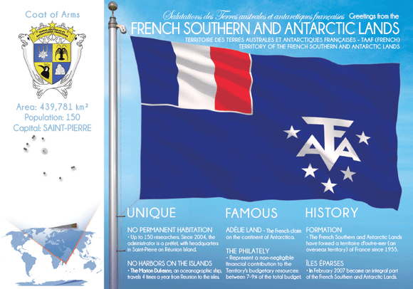 FRENCH SOUTHERN & ANTARCTIC LANDS | TAAF - FW - Postcards Market