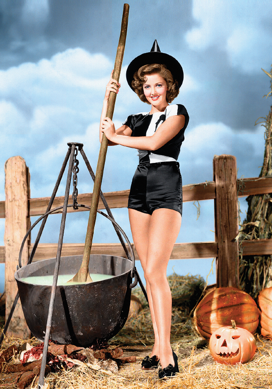 Vintage: The Magic Potion (pin up)