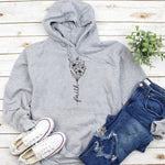 Faith flower Design Christian Hoodies - Heaven's Apparel, jesus hoodie