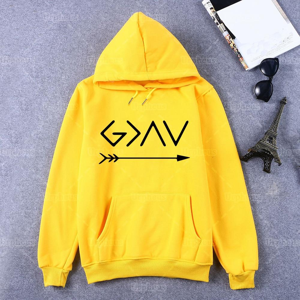 God Is Greater Than The Highs and The Lows Christian Hoodie - Heaven's Apparel