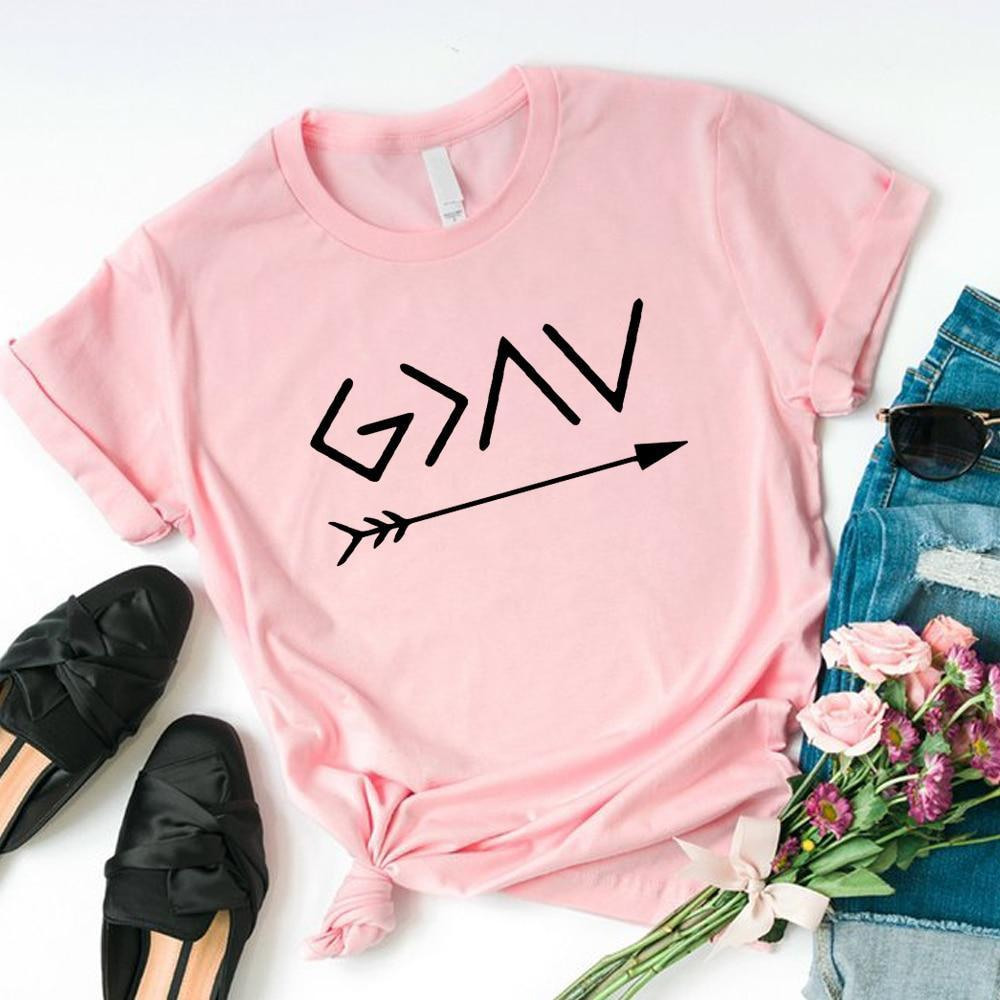 God Is Greater Than The Highs and The Lows, christian t shirt - Heaven's Apparel