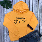 I Choose Jesus Christian Hoodies - Heaven's Apparel, jesus hoodie