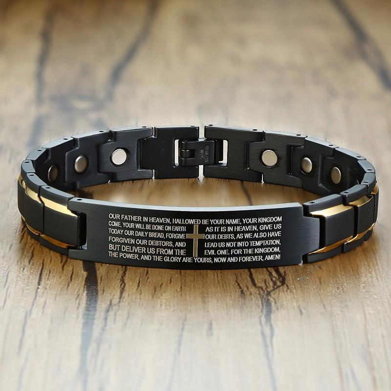 Magnetic Lord's Prayer Bracelet - Heaven's Apparel