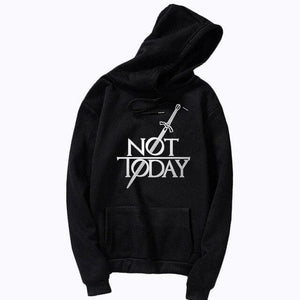 Not Today Christian Hoodies - Heaven's Apparel, jesus hoodie