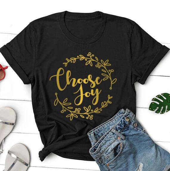Choose Joy Christian T-Shirt | Heavens Apparel