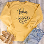 Be Brave and Courageous Psalm 27:14 Sweatshirt | Heavens Apparel